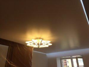 Парящие натяжные потолки
