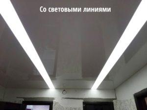 """Светящийся натяжной потолок от компании """"Репа"""""""