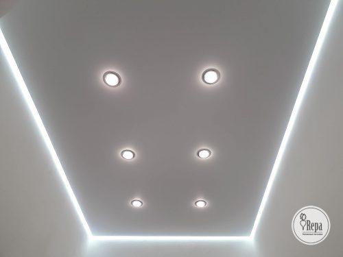 Компания «Репа» поделится особенностями парящих потолков.