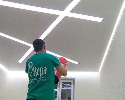 Хотели потолки от «Репы» в Казани? Мы сделали!