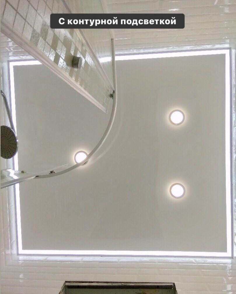 Натяжные потолки с подсветкой фото примеры наших работ