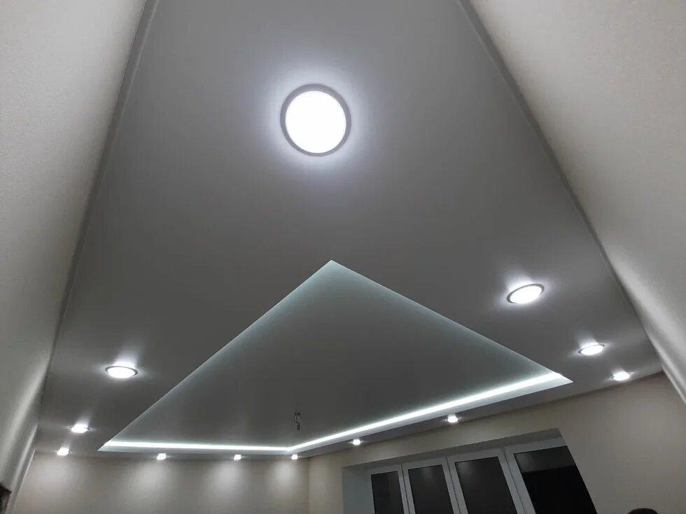 Какой двухуровневый потолок выбрать?