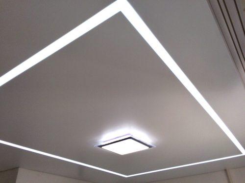 Какую подсветку лучше выбрать для натяжных потолков?