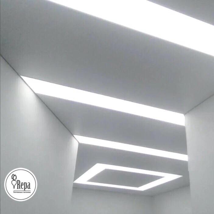 Топ 10: световые линий на натяжном потолке