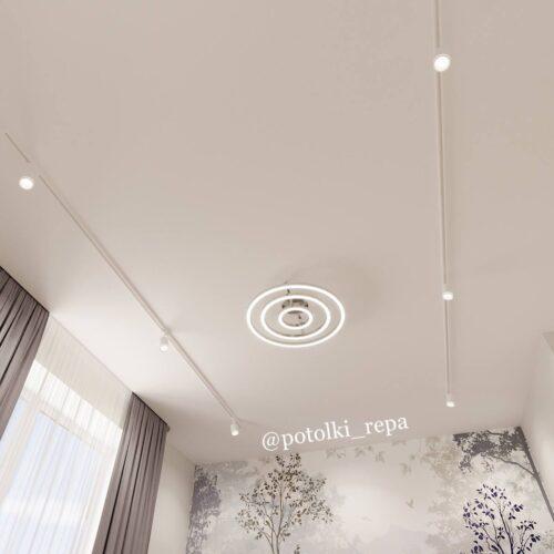 Натяжной потолок в детской комнате – насколько это практично, надежно и безопасно? Расскажет компания «Репа»