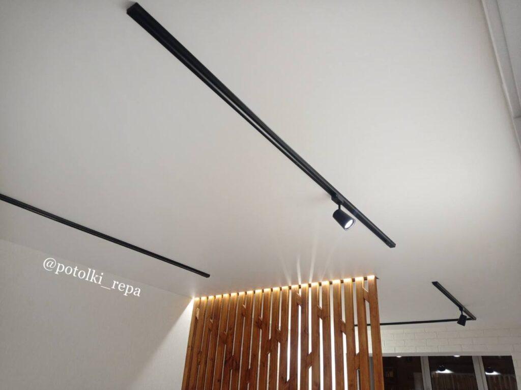 Натяжной потолок за 2 часа – для «Репы» нет ничего невозможного!