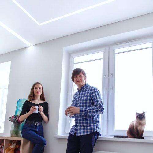 Световые линии в квартиру – самое трендовое решение со скидкой 30% до конца сентября!