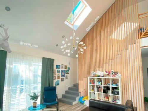 Можно ли устанавливать натяжные потолки в частном доме? Компания «Репа» дарит скидку до 5000₽ в конце статьи!